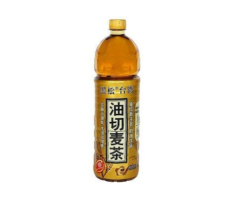 台湾黑松油切麦茶植物饮料(1250ml*6入)