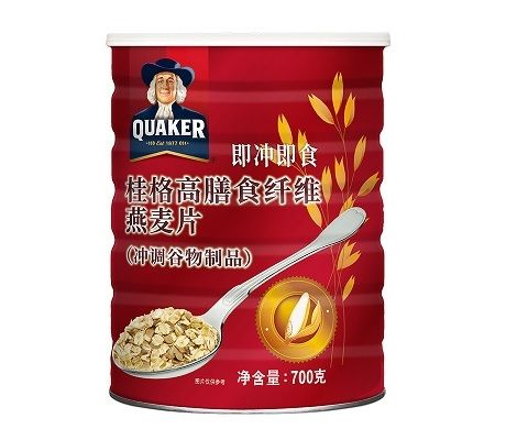 中国台湾 QUAKER 桂格即冲即食营养燕麦片 700g*2罐(口味自选)
