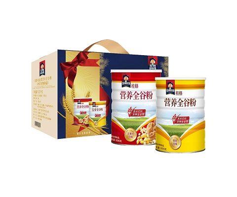 台湾原产 桂格礼盒装营养全谷粉 1.2kg/盒