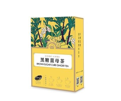 黑金传奇新盒装黑糖姜母茶(14粒/252g)