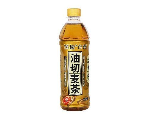 台湾黑松油切麦茶植物饮料(500ml*12瓶)
