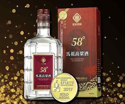 马祖58度高粱酒 600ml